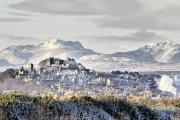 Stirling in snow